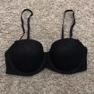 H&M black lace bra